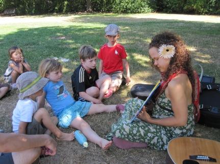 Katy Webber taught music