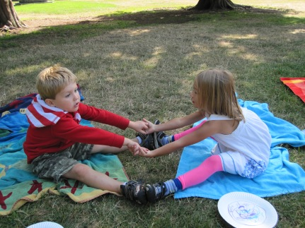 Owen and Willow partnering up