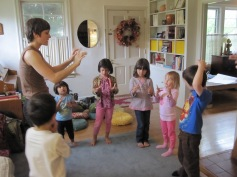 Mary Margaret teaching